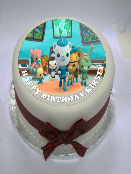 Octonauts Edible Cake Topper